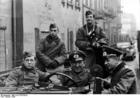 Foto Polônia - gueto Litzmannstadt - soldados alemães