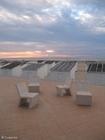 Foto praia com cabanas