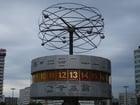 Foto relógio mundial - Berlin