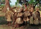 Foto ritual de iniciação em Malawi, Africa