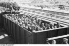 Foto Russia - transporte de prisioneiros de guerra