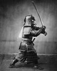 Foto samurai com a espada