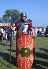 Foto soldado legionário romano