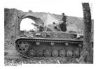 Foto tanque blindado na França