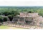 Foto templo dos guerreiros, Chichen Itza