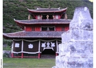 Foto templo no vilarejo