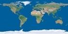 Foto terra sem nuvens ou gelo polar