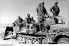 Foto tropas no norte da África