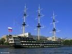 Foto veleiro de três mastros
