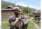 Foto vilarejo nas montanhas