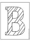 Página para colorir ABC