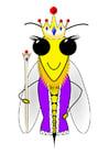 imagem abelha rainha