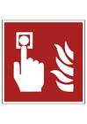 imagem alarme de incêndio