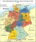 imagem Alemanha - mapa político RFA 2007