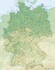 imagem Alemanha - relevo