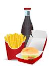 imagem alimentos não saudáveis