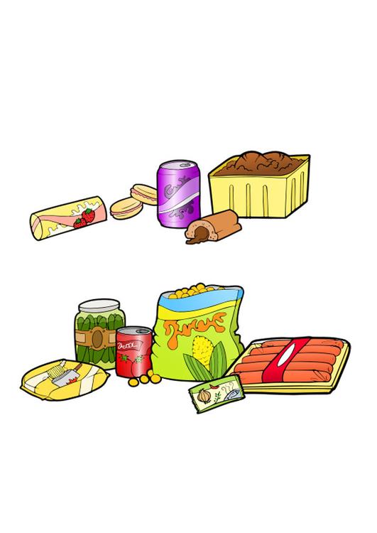 Imagem Alimentos Saudaveis E Nao Saudaveis Imagens Gratis Para