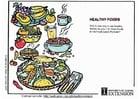 imagem alimentos saudáveis