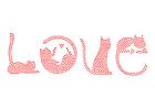 imagem amor - gatos