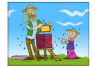 imagem apicultor