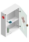 imagem armário dos remédios