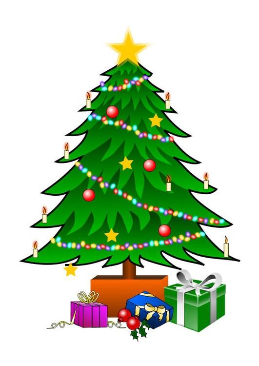 Imagem árvore De Natal Imagens Grátis Para Imprimir
