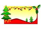 imagem árvores de Natal
