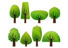imagem árvores