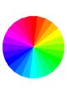 imagem as cores do arco-iris