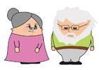 imagem avó e avô