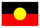 imagem bandeira aborígene
