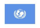 imagem bandeira da UNICEF