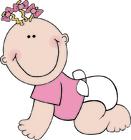 imagem bebê - menina