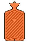 imagem bolsa de água quente