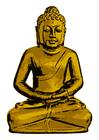 imagem Buda de ouro