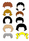 imagem cabelo