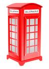 imagem cabine telefônica inglesa