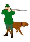 imagem caçador