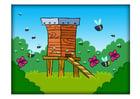 imagem caixa de abelha