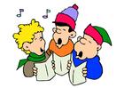 imagem canção de Natal