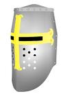 imagem capacete de cavaleiro
