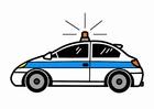 imagem carro da polícia