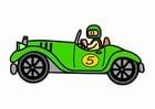 imagem carro de corrida antigo