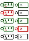 imagem cartões de Natal