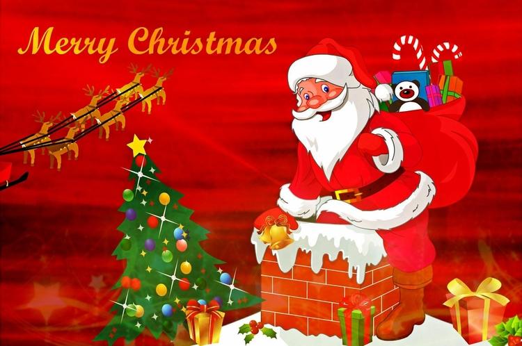 Imagem Cartao De Natal Imagens Gratis Para Imprimir