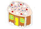 imagem casinha de pão de gengibre