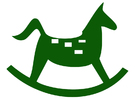 imagem cavalinho de balanço