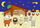 imagem cena de natal
