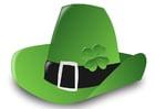imagem chapéu de Dia de São Patrício