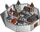 imagem cidade murada